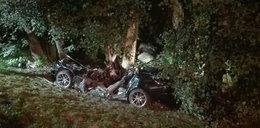 Koszmarny wypadek BMW! Nie żyje dwóch młodych mężczyzn