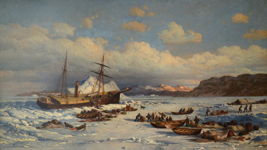Wyprawa statku Polaris miała być wielkim sukcesem Charlesa Francisa Halla. Niestety, okazała się jego ostatnią podróżą