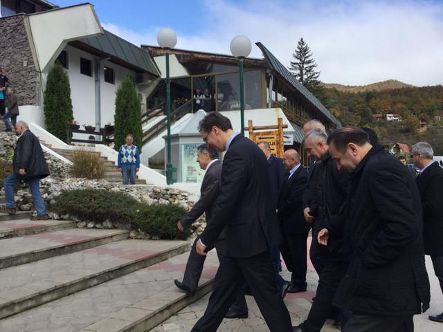 Aleksandar Vučić u Prolom banji