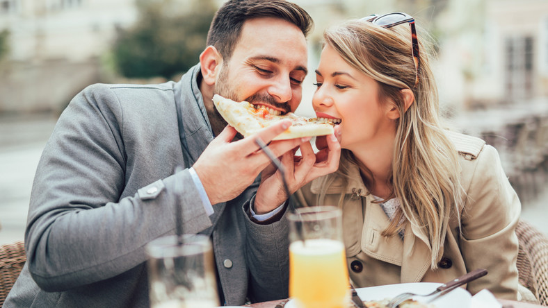 Zakochani na obiedzie
