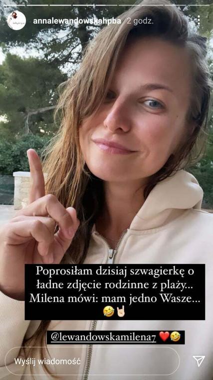 Anna Lewandowska mostró fotos de las vacaciones