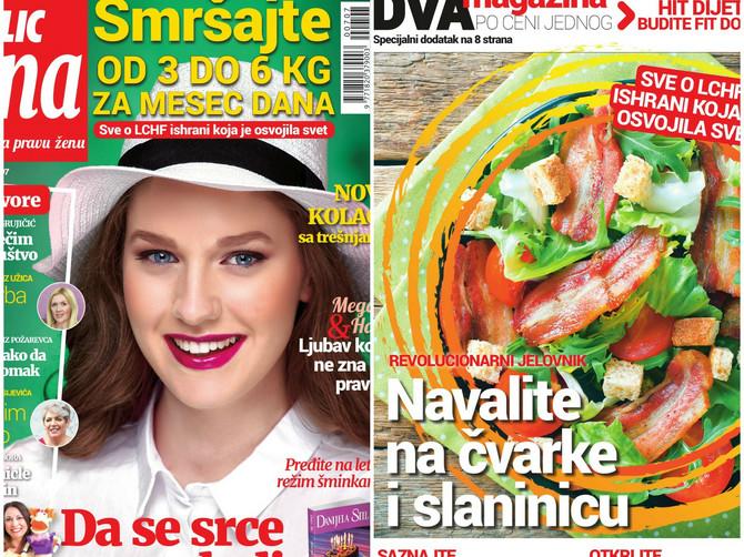 """Uz novu """"Blic ženu"""" KUPON za najpovoljnije """"Metalac"""" posuđe i dodatak o DIJETI KOJA JE OSVOJILA SVET"""