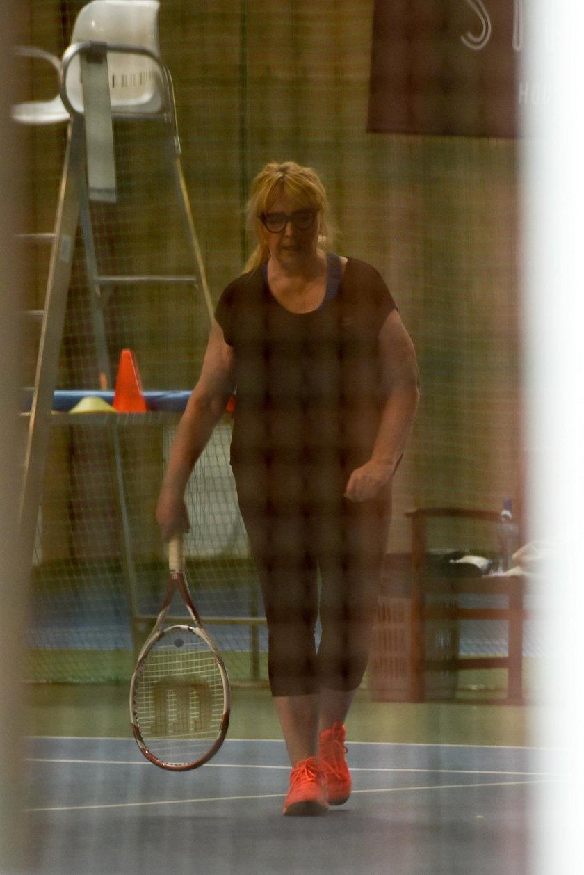 Maryla Rodowicz powróciła do treningów tenisa