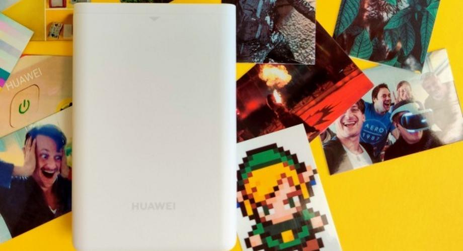 Huawei CV80: Der günstigste & beste Zink-Fotodrucker im Test