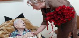 Pani Ewa z Lublina kończy sto lat! Jubilatce życzymy dużo zdrowia