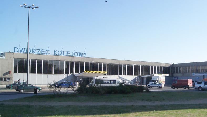 Dworzec w Olsztynie