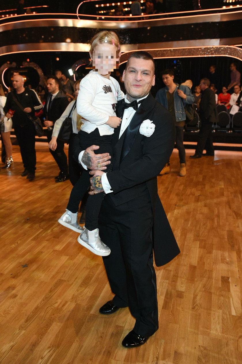 Popek z córką Julką