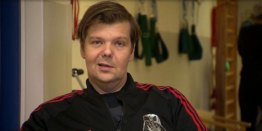 Michał Figurski - pierwszy wywiad po wylewie