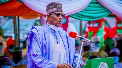 Buhari plans to roll out 'massive' infrastructure projects in 2022