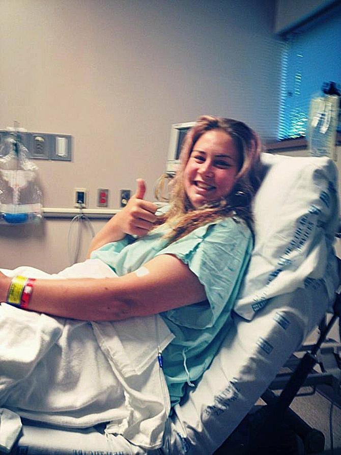 Ceo život je provela po bolnicama