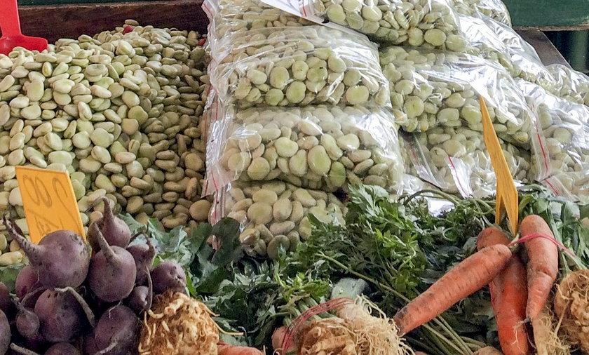 Koszyk krajowych warzyw hurcie jest droższy w roku 2021 w porównaniu z poprzednim o około 13 proc.!