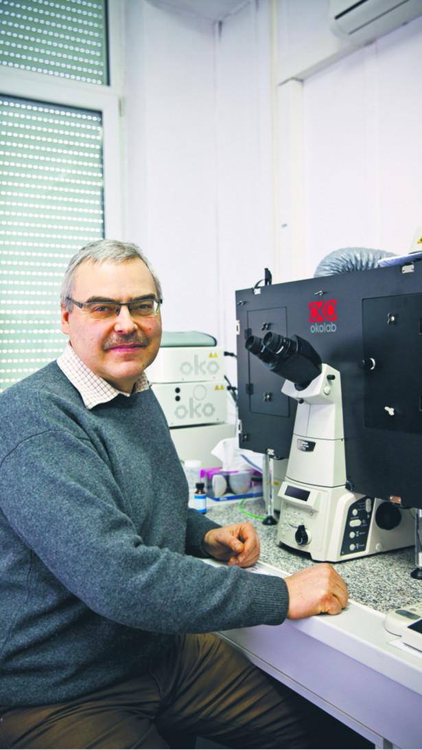 Prof. Marcin Kruszewski, Instytut Chemii i Techniki Jądrowej w Warszawie