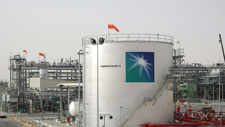 A facility of Saudi oil behemoth Aramco, seen in a file picture from 2006