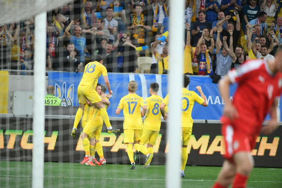 Ukrajinci slave pogodak