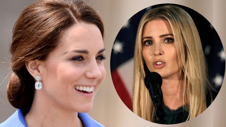 Kate Middleton i Ivanka Trump