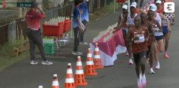 Szokujące zachowanie maratończyka! Czy Francuz powinien zostać za to zdyskwalifikowany? WIDEO
