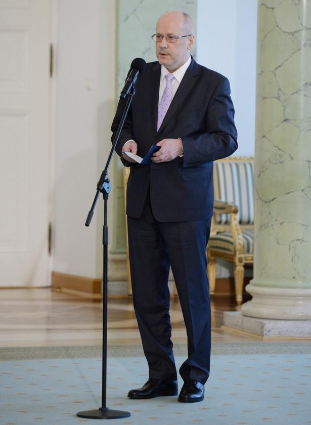 Sędzia Trybunału Konstytucyjnego Zbigniew Jędrzejewski