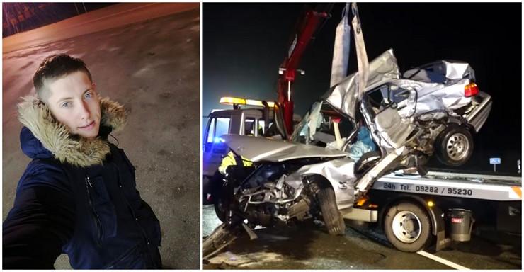 Marko Zdravković kombo, saobraćajna nesreća, Nemačka