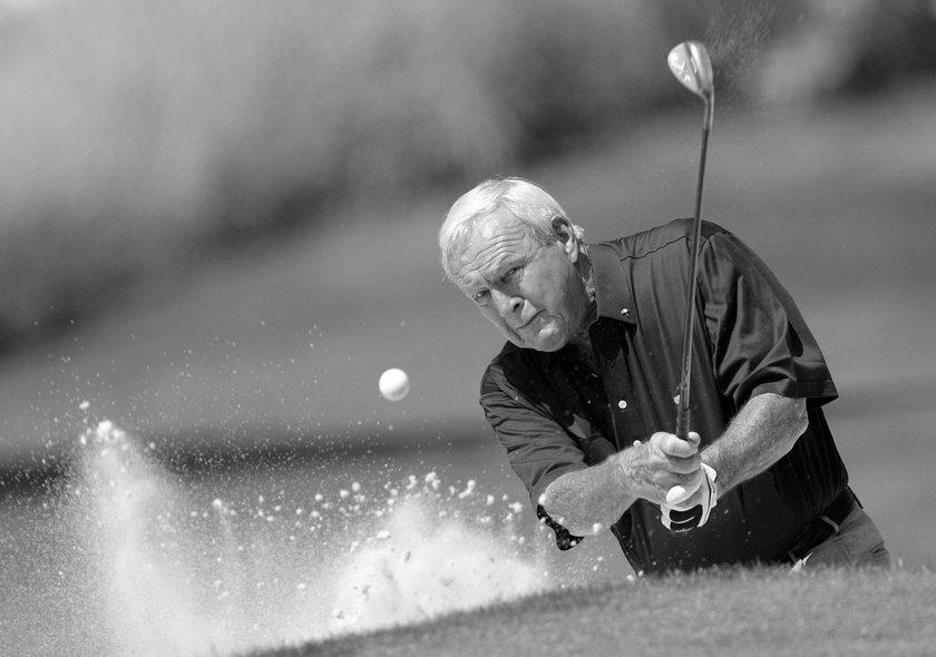 Arnold Palmer nie żyje. Był legendą golfa i idolem Tigera Woodsa