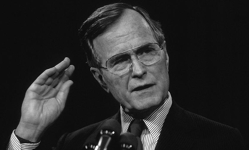 Zmarł George H.W. Bush. Były prezydent USA miał 94 lata