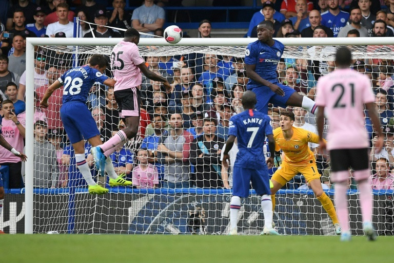 Ndidi scored Leicester City's equaliser against Chelsea on Sunday