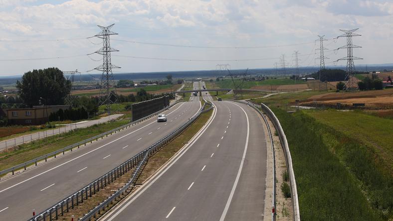 Trasa jest częścią drogi ekspresowej S11