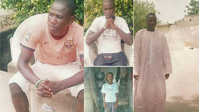 Haroon Abdullahi, 21, Ahmed Abdullahi, 17, Mohammed Abdullahi, 14, and Yahaya Abdullahi, 9, have been in detention since March 2013