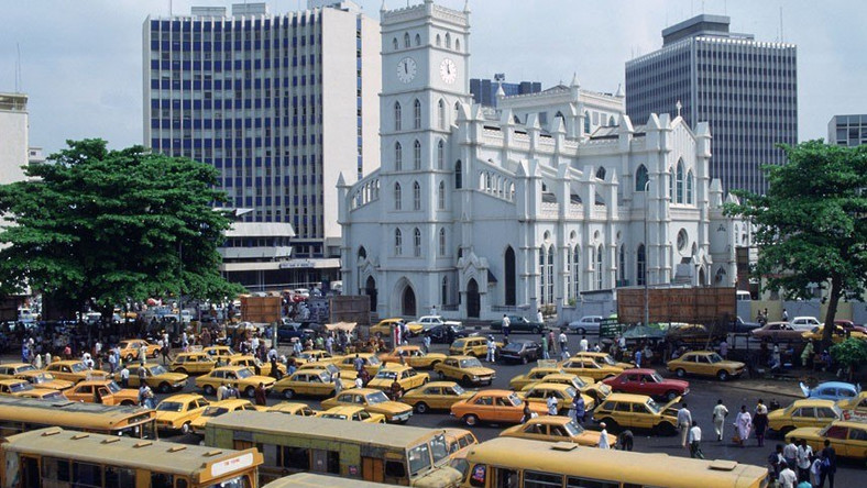 One of the beautiful sights of Lagos city