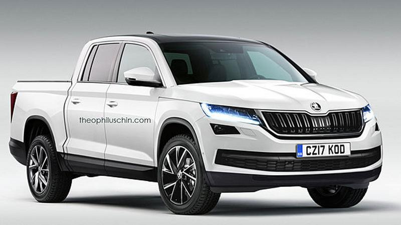 czy powstanie skoda kodiaq pick up moto. Black Bedroom Furniture Sets. Home Design Ideas