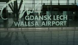 Na lotnisku w Gdańsku zatrzymano dwie osoby