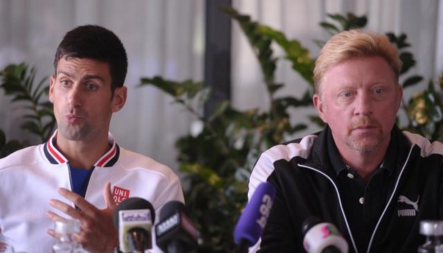 Novak Đoković, Boris Beker