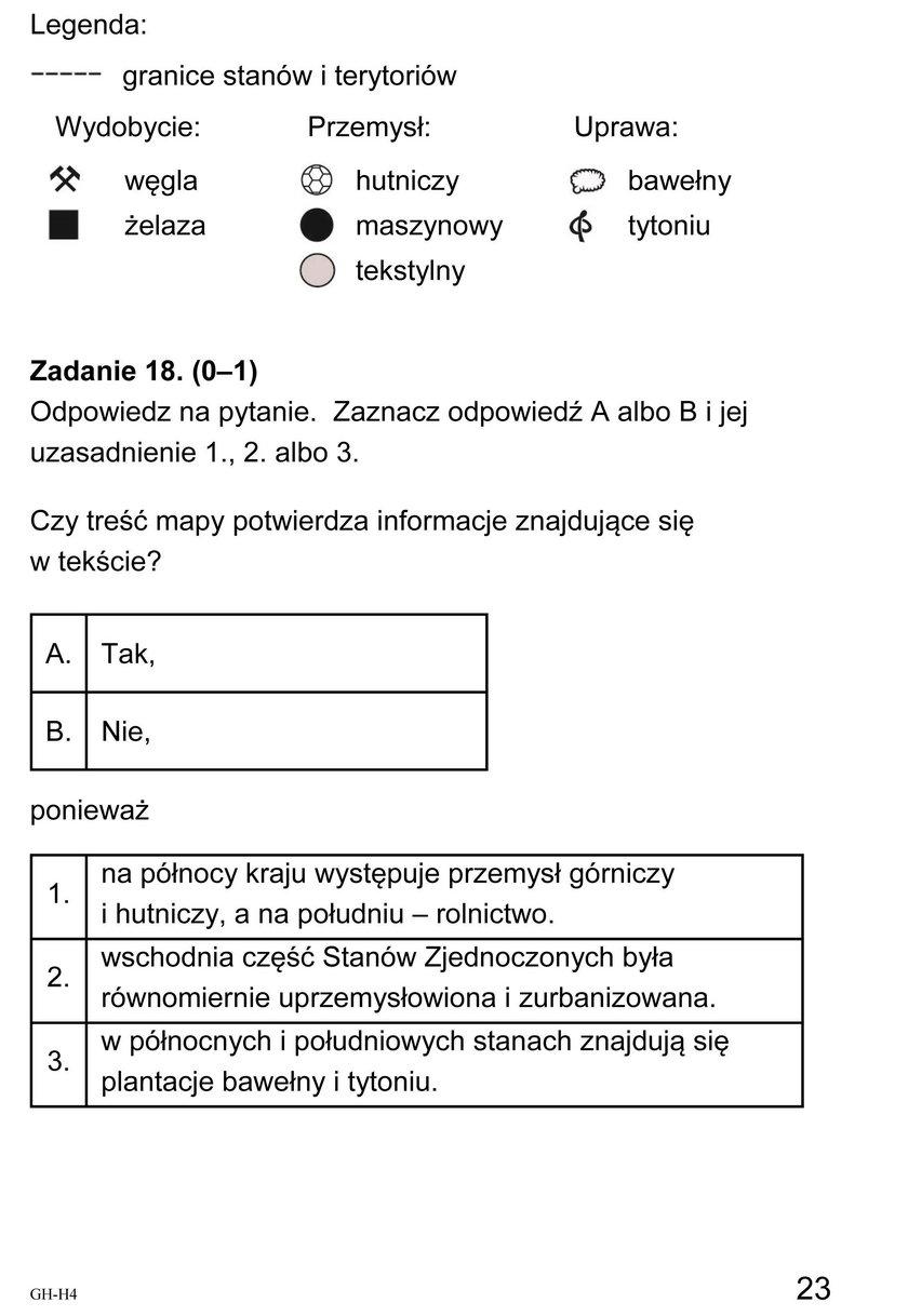 Egzamin Gimnazjalny 2018: Historia i WOS - Odpowiedzi i Arkusze