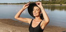 Pogodynka na plaży wywołała zachwyt. Dorota Gardias śle pozdrowienia z wakacji.