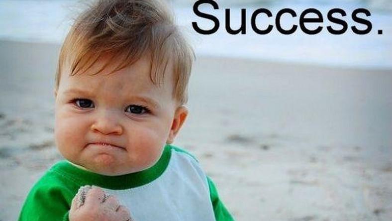 success kid/ fot. knowyourmeme.com