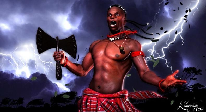 Amadioha vs Sango: A brief history of the Nigerian gods of thunder(Komotion Studio @komotion_studios)