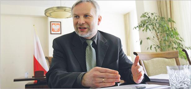 Zdaniem Jacka Wojdyło, prezesa Krajowej Rady Notarialnej, samorząd notarialny nie posiada wystarczających środków finansowych na stworzenie i utrzymanie elektronicznego rejestru poświadczeń dziedziczenia Fot. Wojciech Górski