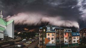 Niesamowite chmury nad Białymstokiem