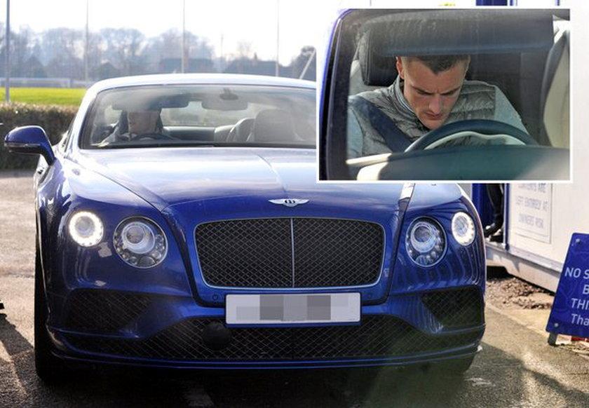 Jamie Vardy sprawił sobie nowy samochód