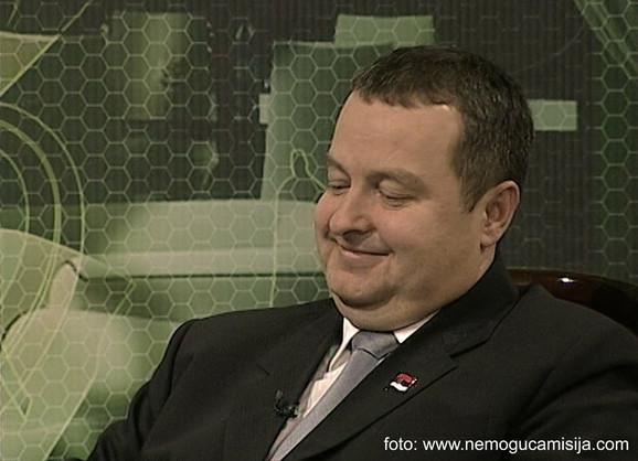 Dačić je primetio da voditeljka ne nosi gaćice