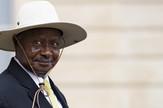 Joveri Museveni, Uganda, EPA - IAN LANGSDON
