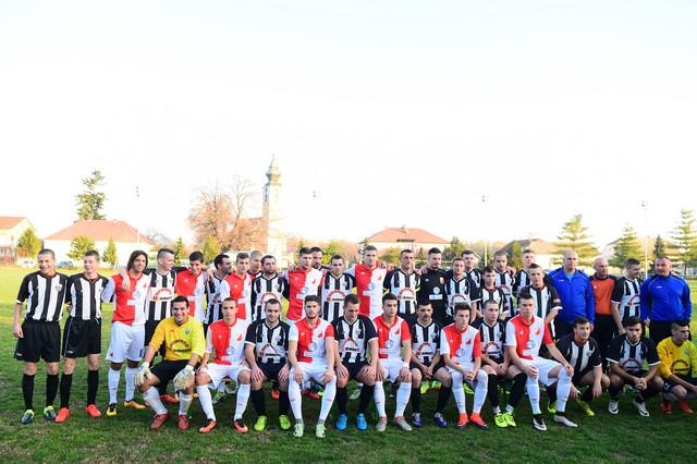 Fudbaleri Vojvodine i Sloge u Borovu
