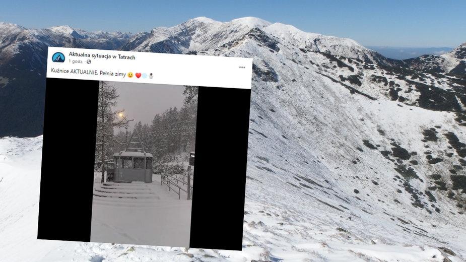 Zima na Podhalu nie odpuszcza. Do 160 cm śniegu w górach
