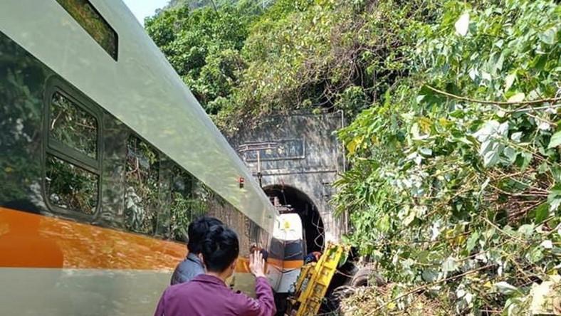Katastrofa kolejowa na Tajwanie