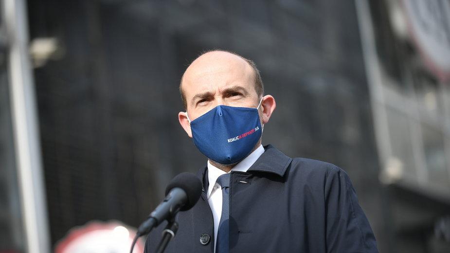 Borys Budka, szef PO
