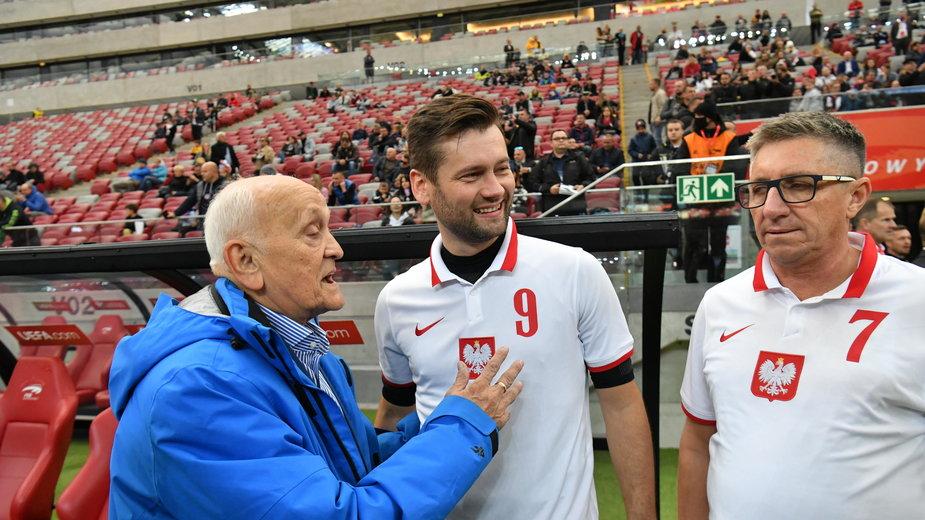 Kamil Bortniczuk z Andrzejem Strejlauem (z lewej)