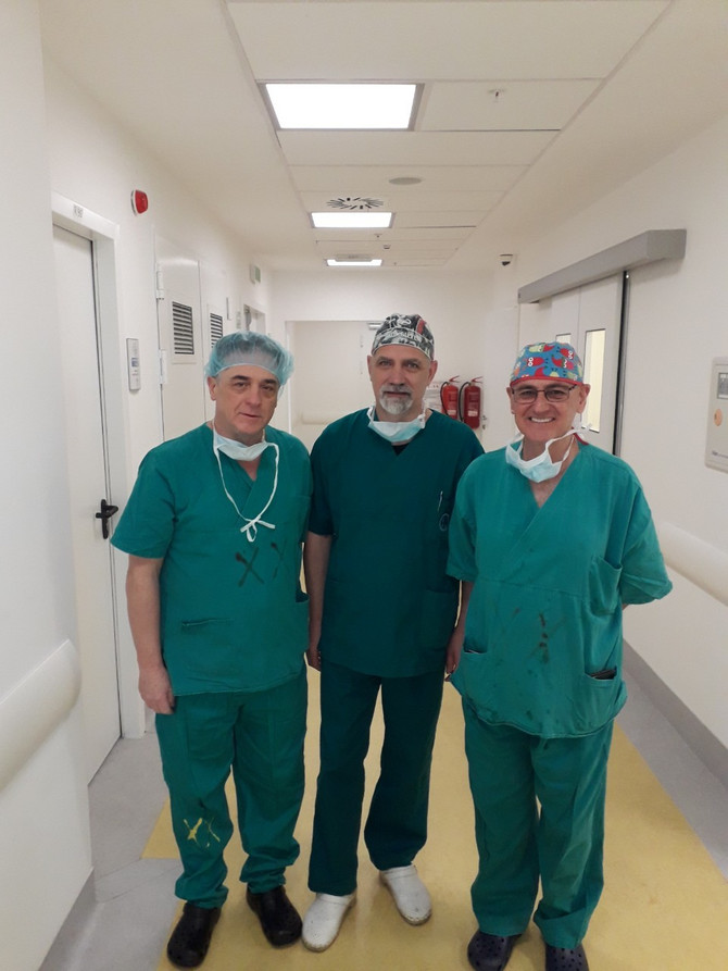 Doktor Ventura sa prof. dr Angelom Hidalgo i prof. dr Nenadom Stojanovićem