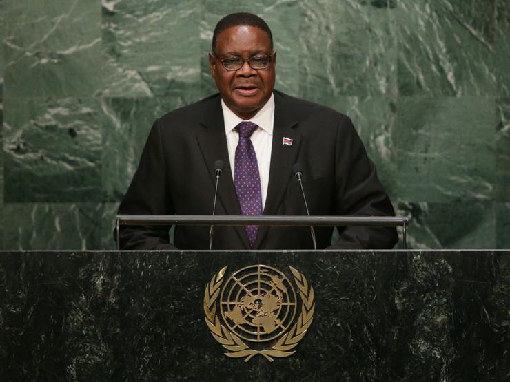 Piter Mutarika, Malavi, EPA -ANDREW GOMBERT