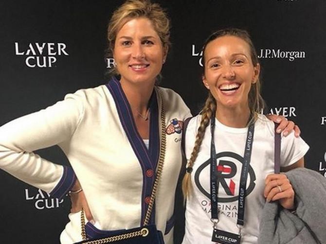 Sliku Jelene Đoković i Mirke Federer danas svi komentarišu