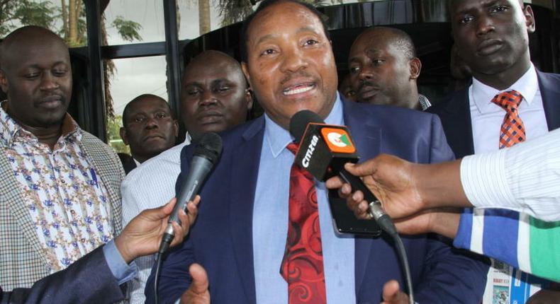 File image of Kiambu Governor Ferdinand Waititu