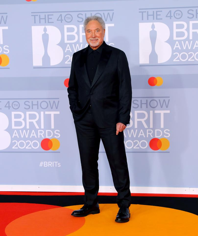 Brit Awards 2020: Tom Jones